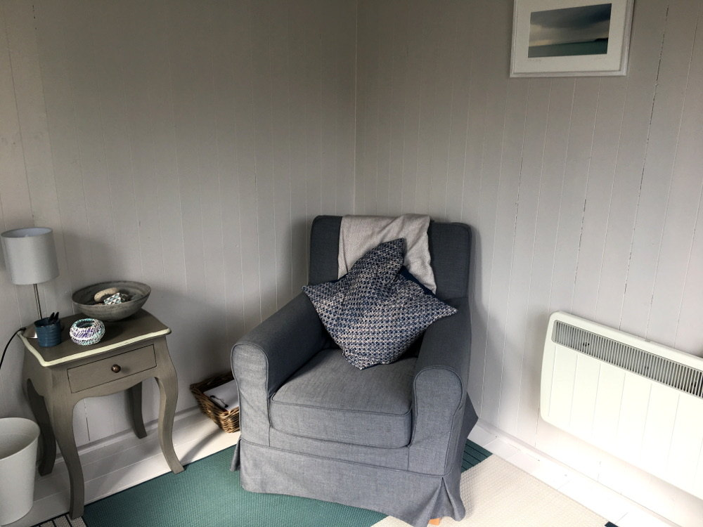 Garden counselling room