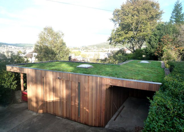 Bespoke Artists Studio With Green Roof 100sqm