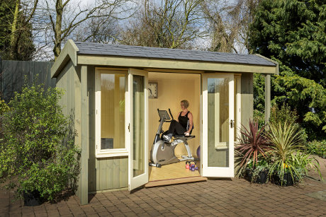 8 ways a garden gym room will keep you physically & financially fit!