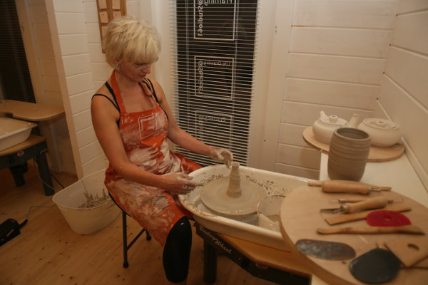 Every Day can be a Clay Day in a Garden Pottery Studio!
