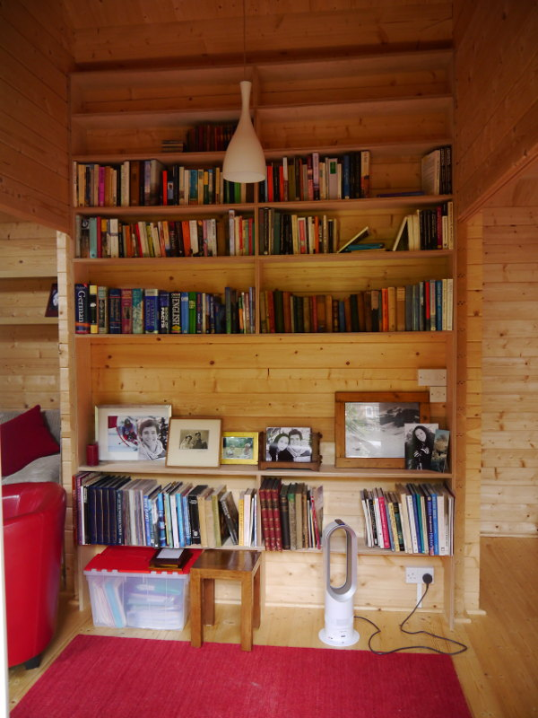 garden office library