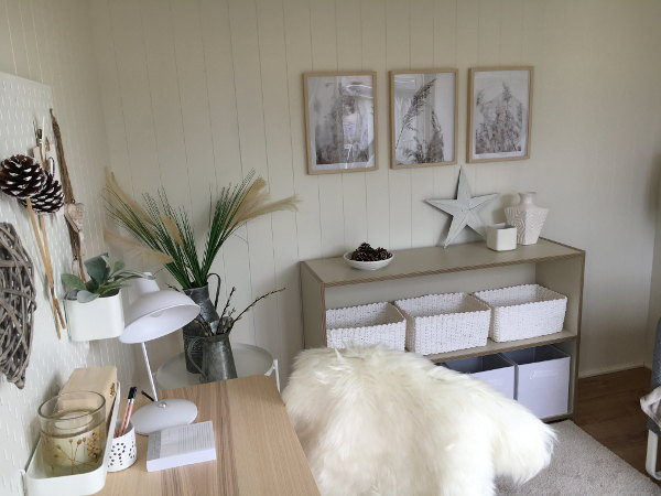 Proline garden office interior scandi