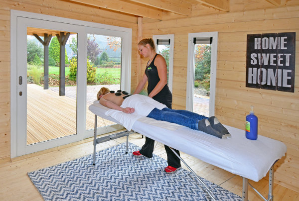 home based massage therapy building
