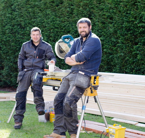 Timber building installers