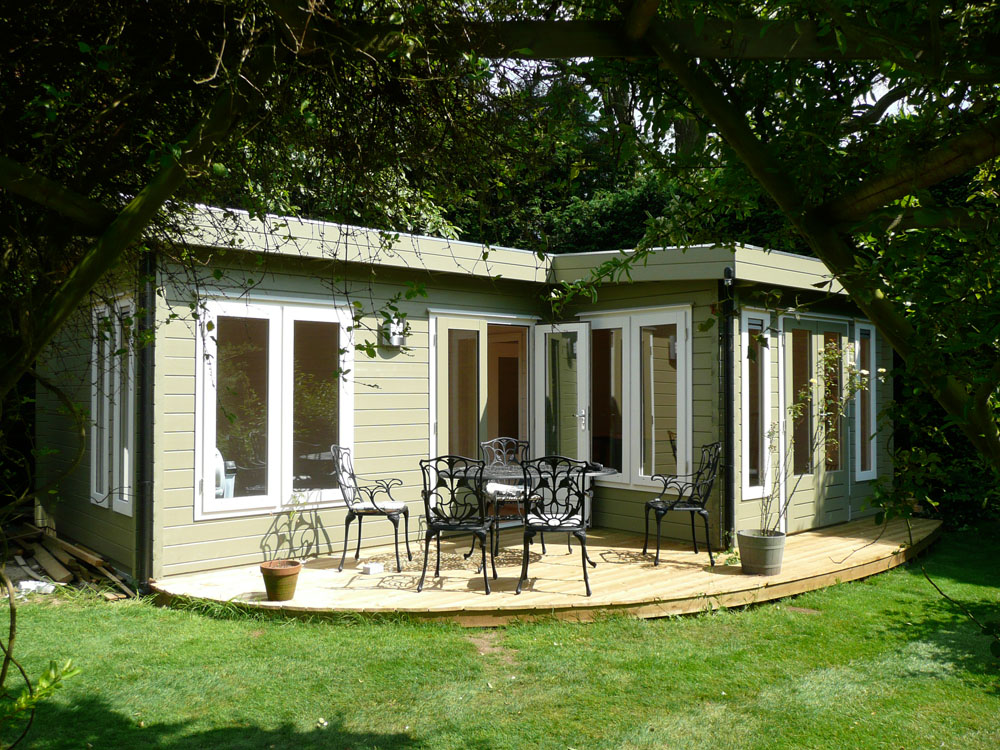 Top tips commissioning your own bespoke garden office room for Garden office cabin