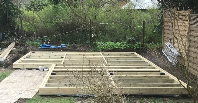 Deck Bases For Garden Buildings
