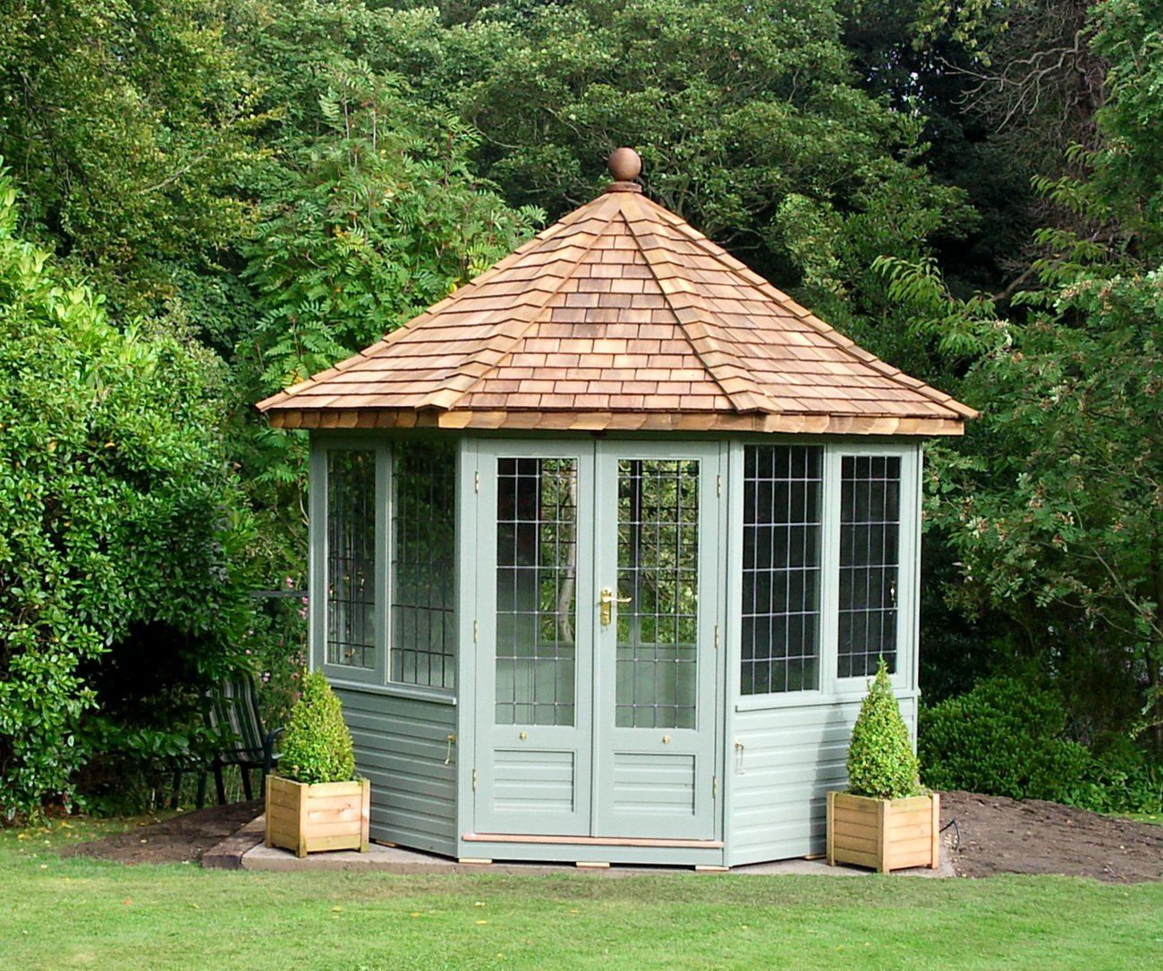 Free insulation & double glazing on all our Chelsea Summerhouses