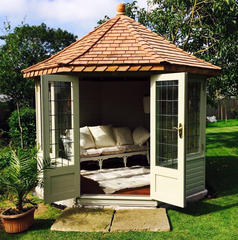 FREE installation on all our Cedar Summerhouses!