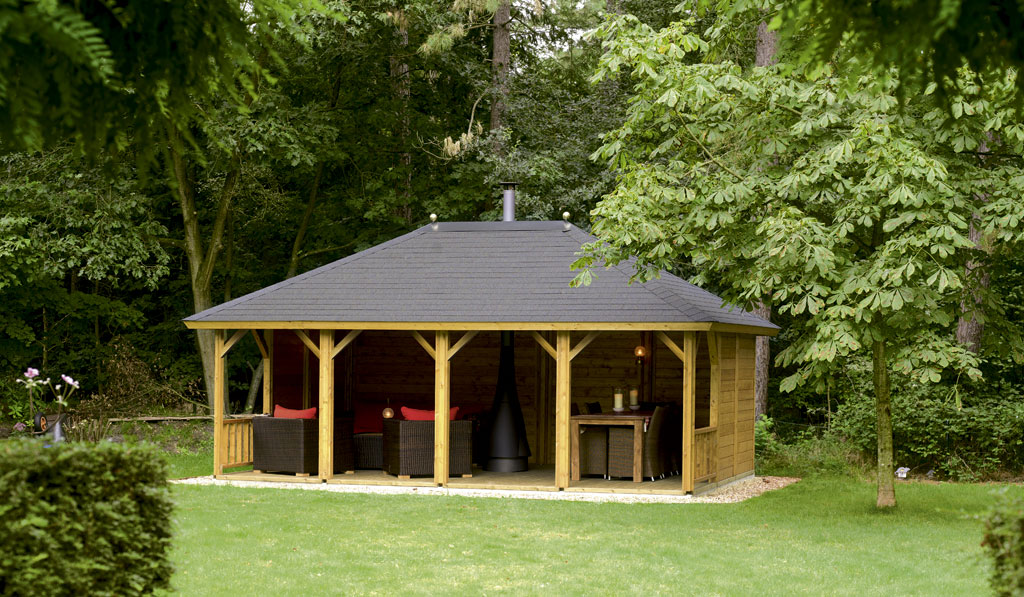 Garden Shelter Ideas - Rain or Shine