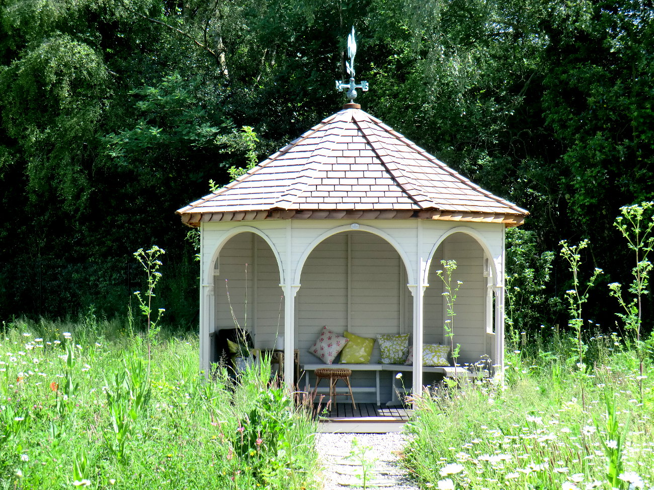 Get ready for summer with our garden gazebos