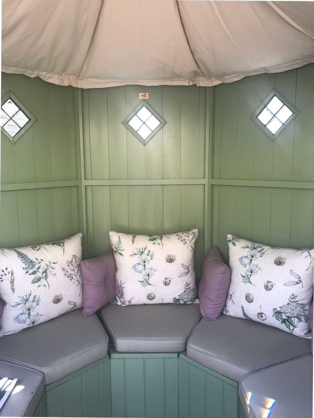 floral print summerhouse upholstery
