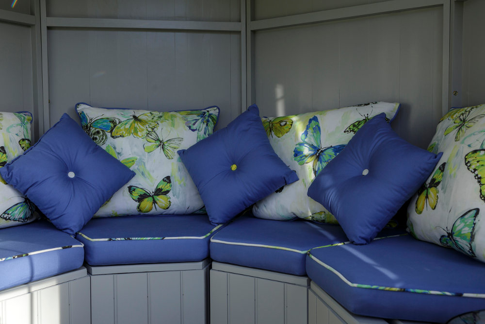 butterfly print summerhouse upholstery